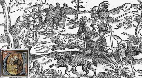 El libro de la montería de Alfonso XI.