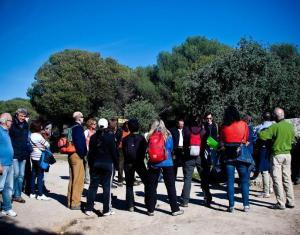 Participantes en una actividad organizada por la asociación.