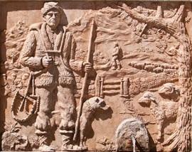 Detalle de la fuente 'Francachela'.