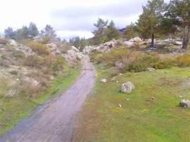 Camino árabe en la Sierra de Guadarrama.