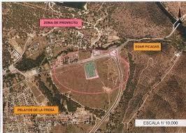 Zona que se hubiera visto dañada por la EDAR.
