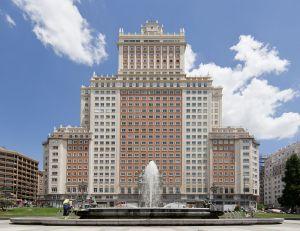 Edificio España. (Foto: Carlos Delgado).