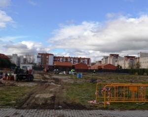 Espacio que ocuparán los huertos urbanos. (Foto: Ayuntamiento de Collado Villalba).