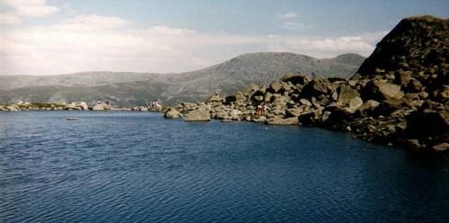 Laguma de Peñalara, en el corazón del Parque Nacional.