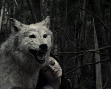 Mujer lobo.