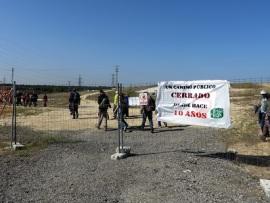 los excursionistas reabrieron la Vereda de Brunete. (Foto: Ecologistas en Acción).