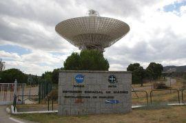 Base de Seguimiento Aeroespacial del INTA y la NASA.