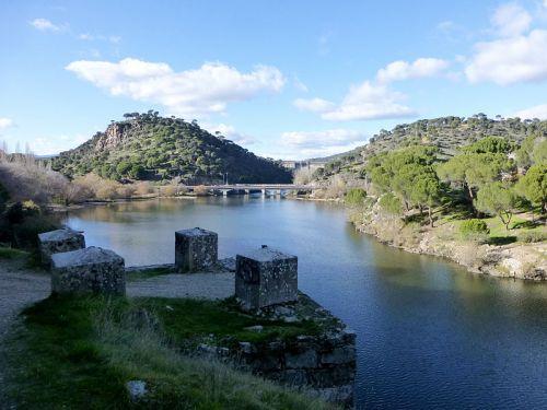 Embalse de Picadas, en la comarca de la Sierra Oeste de la Comunidad de Madrid.