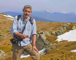 El naturalista y escritor, Julio Vías.