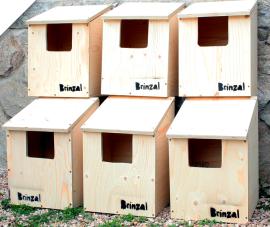 Cajas nido de Brinzal. (Foto: Brinzal).