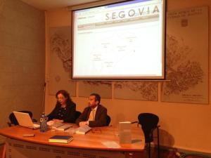 Momento de la presentación de la obra. (Foto: Diputación de Segovia).