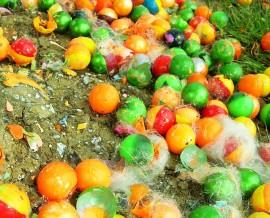 Bolas de pintura de paintball.