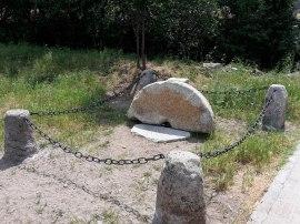 Monumento levantado en Los Molinos. (Foto: Ayto. Los Molinos).