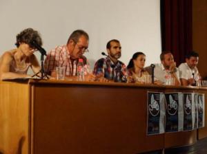 El acto contó con la presencia de los alcaldes de Navarredonda, El Boalo, Navacerrada, Manzanares El Real y La Granja. (Foto: Universidad Socioambiental de la Sierra).