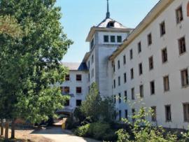 Sanatorio de La Barranca. (Foto: Jonathan Gil Muñoz).