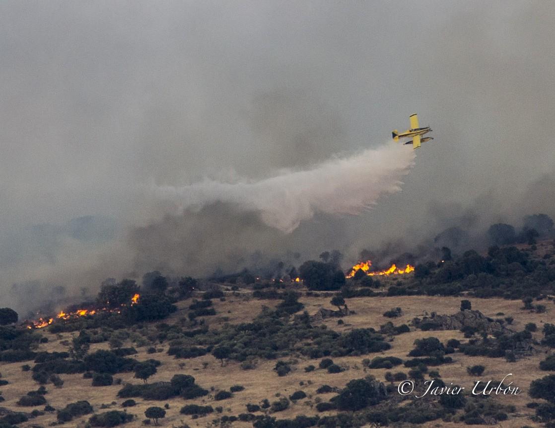 Incendio Pico San Pedro 2
