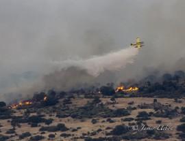 Incendio en el Pico San Pedro.