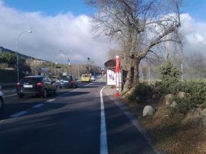 Carretera M-600. (Foto: Entorno Escorial).