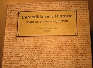 Portada del libro 'Cercedilla en la Historia'