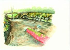 Una de las ilustraciones que acompañan la obra. (Mar Pinillos, Tenada del Monte).