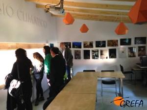 Un momento de la inauguración del Aula de Cambio Climático de GREFA. (Foto: GREFA).