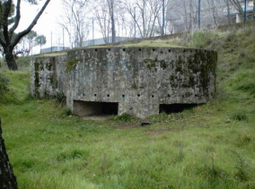 Uno de los fortines de la Guerra Civil existentes en Navalcarbón.