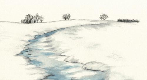 Portada del libro 'Ecos del agua en la Sierra de Guadarrama'.