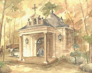 Obra de Félix Bernardino. Foto: Apuntes de la Sierra.