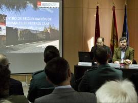 Presentación de los datos en el CRAS. (Foto: CAM).