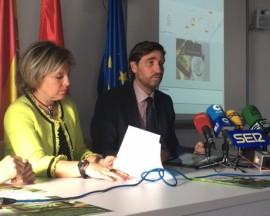 Momento de la presentación del servicio Línea Verde. Foto. Ayuntamiento de Collado Mediano.