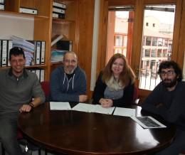 Momento de la firma del convenio. Foto: Ayto. Ciempozuelos.