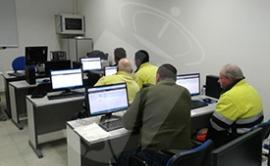 Momento de la realización del curso. (Foto: Ayto. Torrelodones).