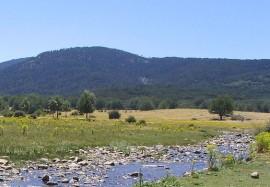 Paisaje del piedemonte del valle de Valsaín.