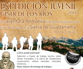 Cartel de la expedición.