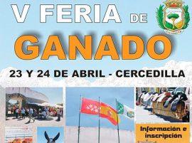 V Feria de Ganado de Cercedilla.