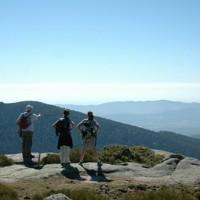 Concentración ciclista para pedir más protección para la Sierra de Guadarrama