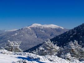 Vista del Macizo de Peñalara desde el Cerro Minguete, en el Parque Nacional de la Sierra de Guadarrama. Foto: Miguel Varona.