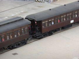 Tren_de_la_Fresa,_cerca_del_Museo_del_Ferrocarril_de_Madrid,_España