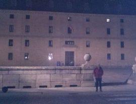 El protagonista de la travesía por el Guadarrama en el Monasterio de San Lorenzo.