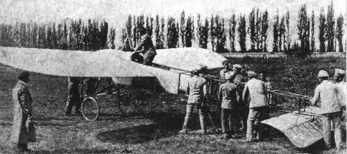 Los primeros aviones que sobrevolaroin el Guadarrama eran aparatos con unas grandes limitaciones aeronáuticas.