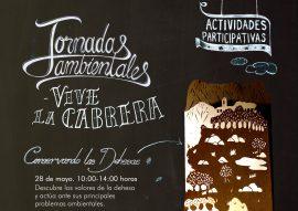 Cartel de las jornadas ambientales de La Cabrera.
