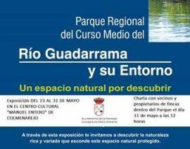 Exposición y charla informativa sobre el Parque Regional del curso medio del Río Guadarrama y su entorno