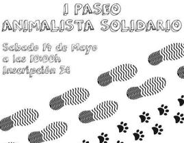 I Paseo Animalista Solidario.
