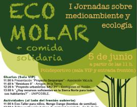 Cartel de la primera edición de EcoMolar.