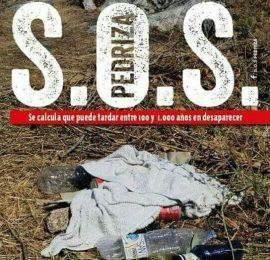 Cartel de una de las manifestaciones convocadas por SOS Pedriza.