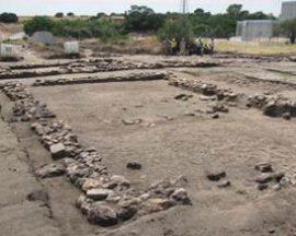 Yacimiento romano de 'Los Palacios'. Foto: Ayto. Villanueva del Pardillo.