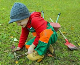 Las actividades buscan concienciar a los más pequeños de la casa. Foto: Ayto: Guadarrama.