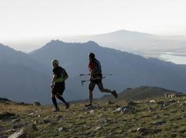 Corredores durante una edición anterior del Gran Trail.