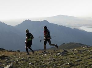 Carrera por la alta montaña.