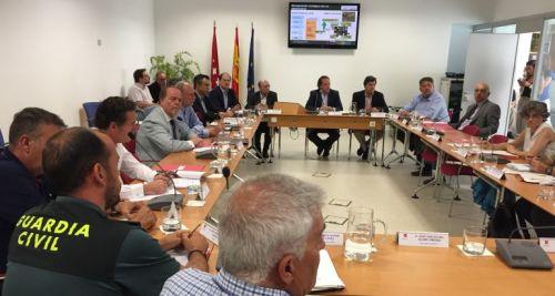 Asistentes a la última reunción del Consejo de Medio Ambiente de la Comunidad de Madrid.